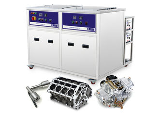 Twin tank 28khz ultrasonic cleaner for aircrafts parts ,marine engine fuel systems pump parts with clean and dry tank